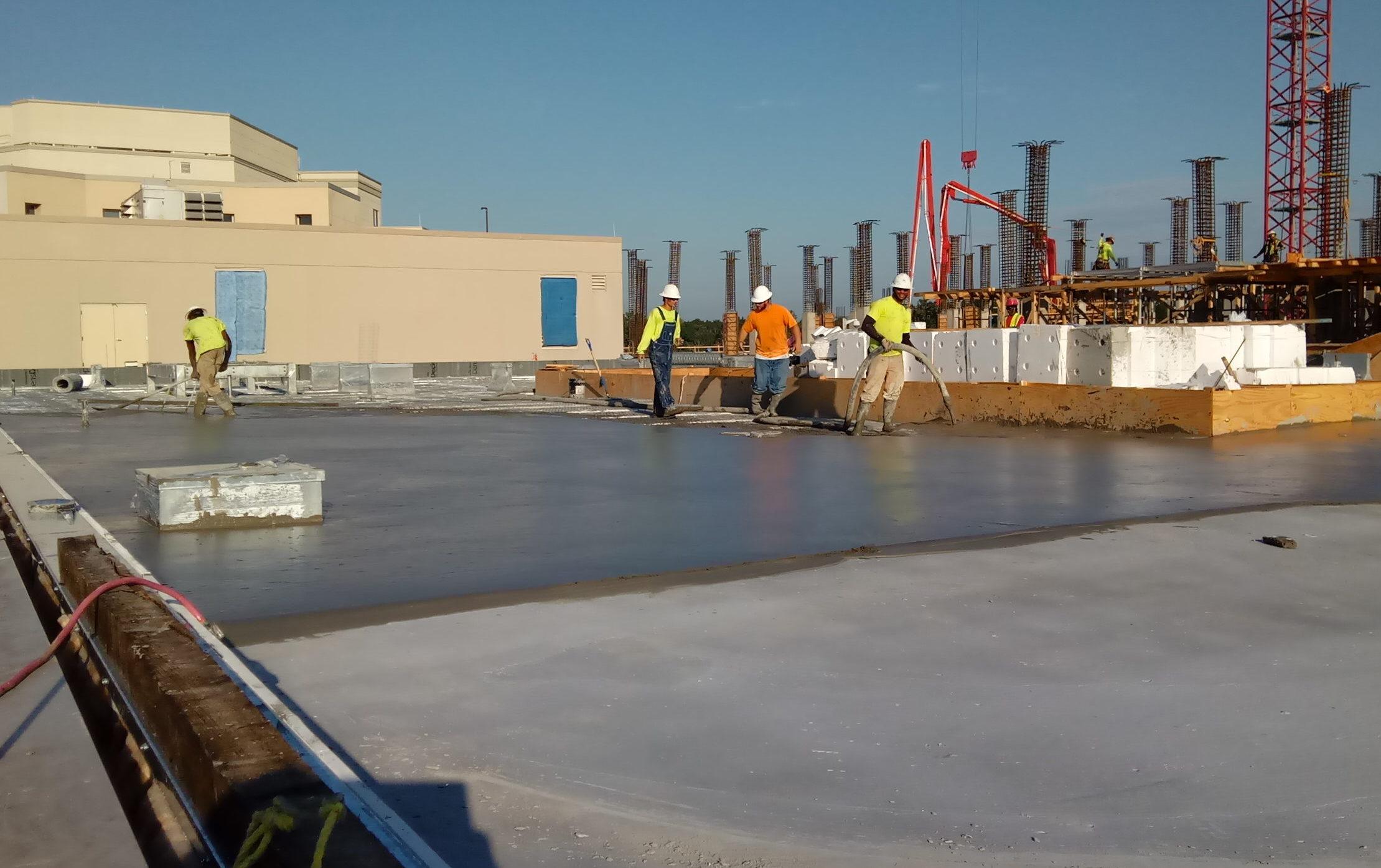Lightweight Concrete Roof Decks All South Subcontractors